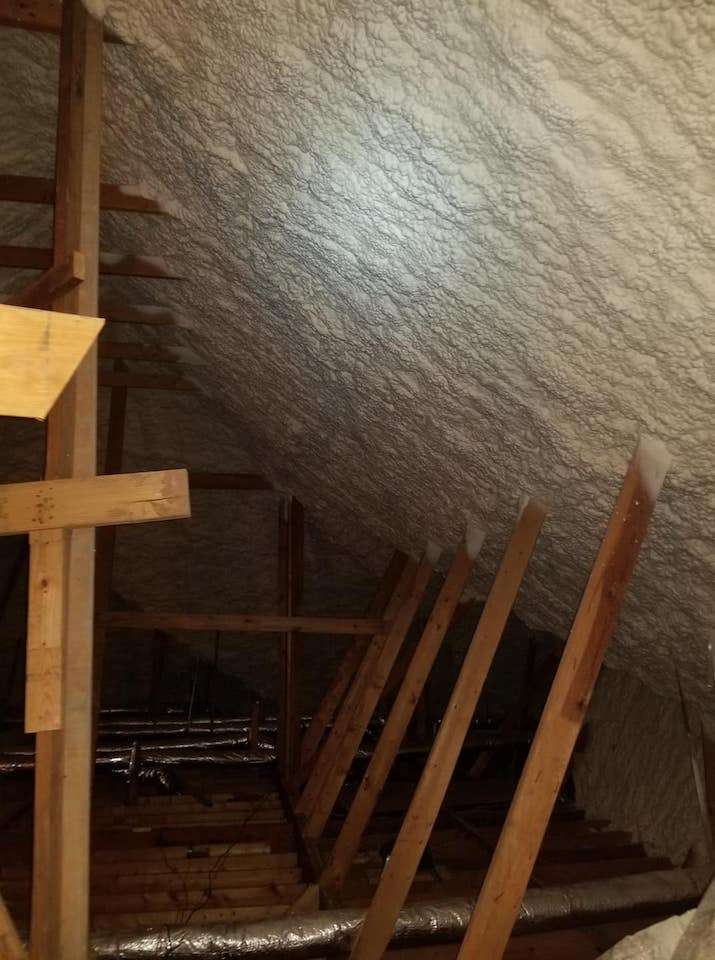 Attic Insulation Foam Orlando