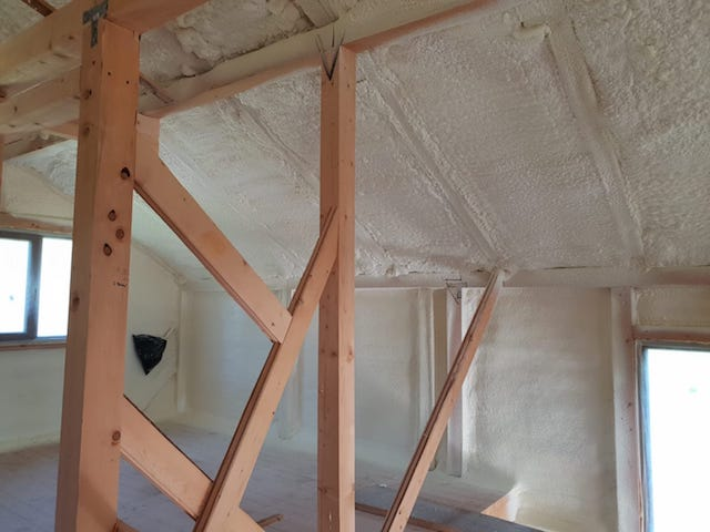 Residential Closed Cell Spray Foam Insulation Orlando 02